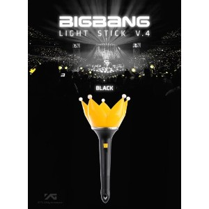[YG Official MD] ビッグバン(BIGBANG) 公式ペンライト ver.4 (黒) / BIGBANG Official Fan light ver. 4 (BLACK) /...