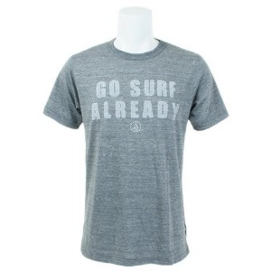 ボルコム(Volcom) GO SURF ALREADY S/S TEE 半袖Tシャツ A57117JB-HGR (Men's)