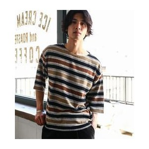 SC CRATER/BOR BOAT/N 5分袖 カットソー【グリーンレーベルリラクシング/green label relaxing Tシャツ・カットソー】
