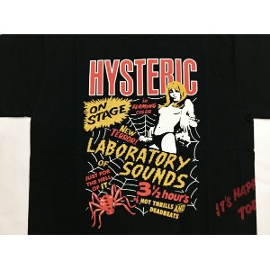 HYSTERIC GLAMOUR LAB SOUNDS pt T-SH