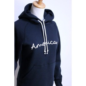 "Americana(アメリカーナ)HOOD PRINT SWEAT ""AMERICANA"" 2color 2017'S/S【Lady's】"