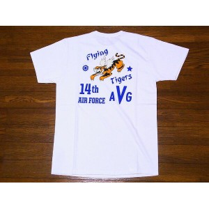 Buzz Rickson's[バズリクソンズ] Tシャツ BR77697 14th AIR FORCE (ホワイト)