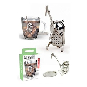 KIKKERLAND / from U.S.A. Cliff The Climber Tea Infuser クリフザクライマーティーインフューザー