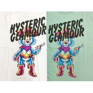 HYSTERIC GLAMOUR TATTOO COWBOY pt T-SH