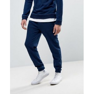 United Colors of Benetton Joggers in Washed Indigo