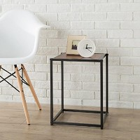 【Zinus Modern Studio Collection Classic Cube Side Table/ End Table/ Night Stand/ Coffee Table by...