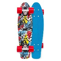 【Penny Board- The Original Penny Skateboard- 22 Comic Fusion Retro Cruiser by Penny Skateboards by...