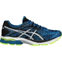 (取寄)アシックス メンズ Gel-Flux4 ランニングシューズ Asics Men's Gel-Flux 4 Running Shoe Thunder Blue/Silver/Black