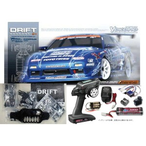 ヨコモ ドリフトパッケージ Team TOYO TIRES DRIFT with GP SPORTS 180SXキット+MX-V 2.4GHz BL-Sport EP START SET #DP...