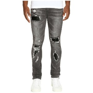 God\'s Masterful Children Amadeo Ripped Leather Jeans パンツ