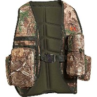 アンダーアーマー メンズ アウター ベスト【Under Armour Turkey Trax Vest】Realtree AP - Xtra / Dynamite