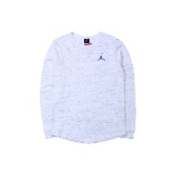 JORDAN BRAND JUMPMAN LONG SLEEVE T-SHIRTS (867299/052: HEATHER BLUE)ジョーダンブランド/ロングT-シャツ