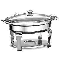 Tramontina ProLine Oval Litre Chafing Dish 卓上保温鍋 チェーフィングディッシュ