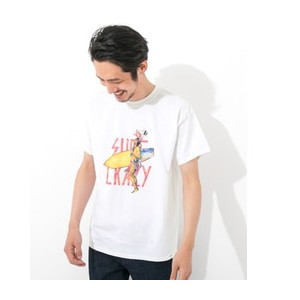 Sonny Label MAGIC NUMBER SURF CRAZY 別注T-SHIRTS【アーバンリサーチ/URBAN RESEARCH メンズ, レディス Tシャツ・カットソー WH ルミネ...