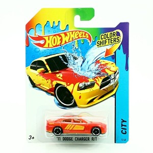 【'11 DODGE CHARGER R/T / COLOR SHIFTERS 2014 Hot Wheels City Series 1:64 Scale Vehicle #13/48】...