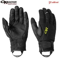 OR(アウトドアリサーチ) ALIBI II GLOVES 14-15FW 72574-151-M 151-BLACK/LEMONGRASS M