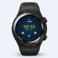 WATCH2/CARBON BLACK ファーウェイ スマートウォッチ(カーボンブラック) HUAWEI WATCH 2 Sport non-4G LEO-B09 [WATCH2CARBONBLACK...