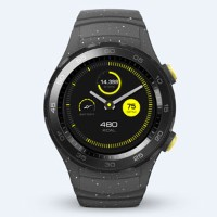 WATCH2/CONCRETE GREY ファーウェイ スマートウォッチ(コンクリートグレー) HUAWEI WATCH 2 Sport non-4G LEO-B09 [WATCH2CONCRETEG...