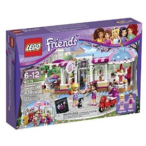 レゴフレンズ LEGO Friends Heartlake Cupcake Cafe 41119 [並行輸入品]
