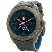 ルミノックス Luminox メンズ アクセサリー 腕時計【XCOR Aerospace GMT 5120 Series Watch - Cordura Nylon Strap 】Black/Grey