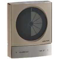 JACOB JENSEN Timer clock Warm Silver BX115W
