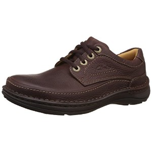 [クラークス] Clarks Nature Three 20339005 Mahogany Leather(Mahogany Leather/UK7.5)