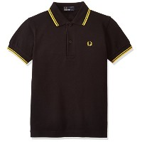 (フレッドペリー)FRED PERRY CHILDRENS POLO SHIRT SY1200 506BLACK/YELLOW/YL BLACK/YELLOW/YL 45