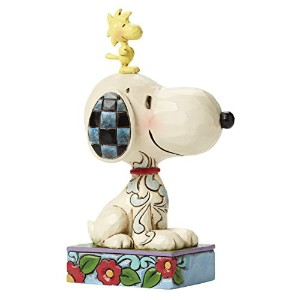 enesco PEANUTS DESIGNS BY JIM SHORE フィギュア スヌーピー&ウッドストック -My Best Friend-