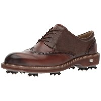 [エコー] ゴルフシューズ MEN'S GOLF LUX 142504 50434 Brown EU 44(27.5cm)