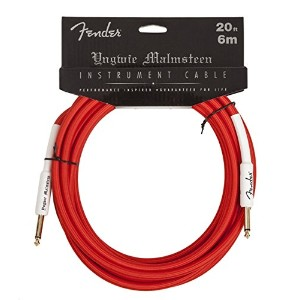 Fender フェンダー ケーブル YJM 20FT INSTRUMENT CABLE RED