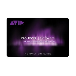 AVID Pro Tools with Annual Upgrade and Support Plan - Student/Teacher (Card and iLok) 9935-65896-00