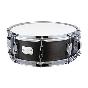 CANOPUS カノウプス スネアドラム 刃(YAIBA) Maple 5.5x14 Snare Drum Antique Ebony Mat LQ