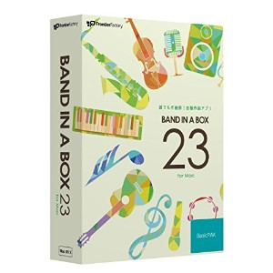 PG Music Band-in-a-Box 23 for Mac BasicPAK