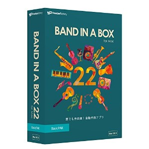 PG Music Band-in-a-Box 22 for Mac BasicPAK