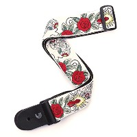 Planet Waves by D'Addario プラネットウェーブス ギターストラップ Bowery Collection Woven Guitar Strap 20T03 Dia De Los...