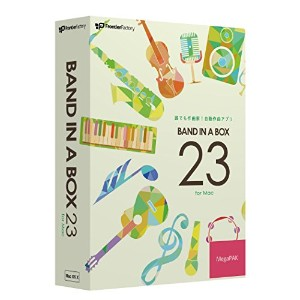 PG Music Band-in-a-Box 23 for Mac MegaPAK