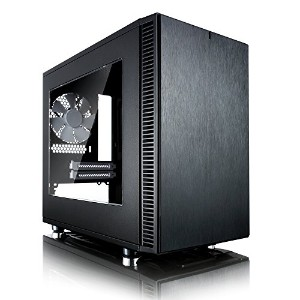 Fractal Design Define Nano S - Black - Window version ミニタワー型PCケース CS6034 FD-CA-DEF-NANO-S-BK-W