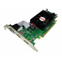 IGAGURI HD7450LP1GB-PCIEX RADEON HD7450 1GB PCI-Express X16 ビデオカード DUAL HDMI (ロープロ対応)
