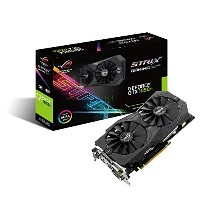ASUS R.O.G. STRIXシリーズ NVIDIA GeForce GTX1050Ti搭載ビデオカード オーバークロック メモリ4GB STRIX-GTX1050TI-O4G-GAMING