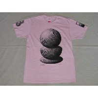 SUPREME(シュプリーム)×M.C. Escher(M.C.エッシャー) Tシャツ Three Spheres Tee(スリー スフィアーズ) Pink(ピンク) MADE IN USA...