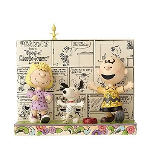 PEANUTS DESIGNS BY JIM SHORE フィギュア スヌーピー Comic Book #4054078 4054078