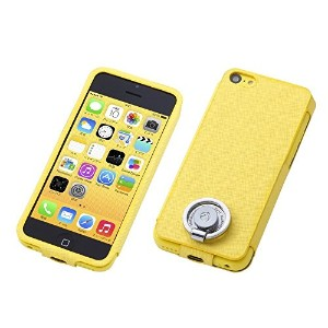 Deff Multi Function Design Case for iPhone5C Pineapple Yellow DCS-MI5CPL01YL