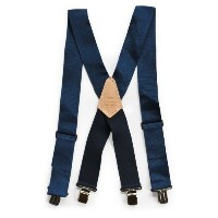 HERITAGE LEATHER(ヘリテージレザー) HEAVY DUTY SUSPENDER BLUE Blue 112