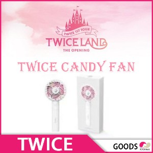 【1次予約限定価格】Candy Fan★ TWICE 1st Tour OFFICIAL GOODS★TWICE LAND★【GOODS】【発売7月中旬】【7月末発送】