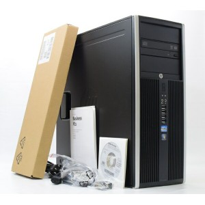 hp Compaq Elite 8300 CMT Core i5-3470 3.2GHz 8GB 500GBx2台 RadeonHD7450 DVD+-RW Windows7Pro64bit 【中古...