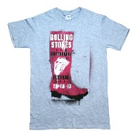 The Rolling Stones / Glastonbury Festival Tee (Heather Grey)