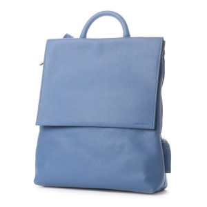 アレンルージュ Allen Rouge 【Allen Rouge/アレンルージュ】DANIEL/waterproof leather flap ruck (BLUE) レディース