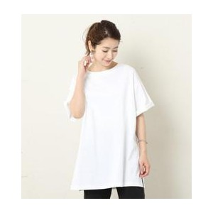 BY コットンサイドスリットビッグT【ビューティアンドユース ユナイテッドアローズ/BEAUTY&YOUTH UNITED ARROWS Tシャツ・カットソー】