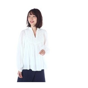 MULLER OF YOSHIOKUBO / Gather blouse【アングローバルショップ/ANGLOBAL SHOP シャツ・ブラウス】