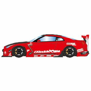 1/18 Rocket Bunny R35 GT-R レッド(カーボンフード) / 6スポーク20in. Wheel【IM003A4】 【税込】 メイクアップ [IM003A4 ロケットバニー...